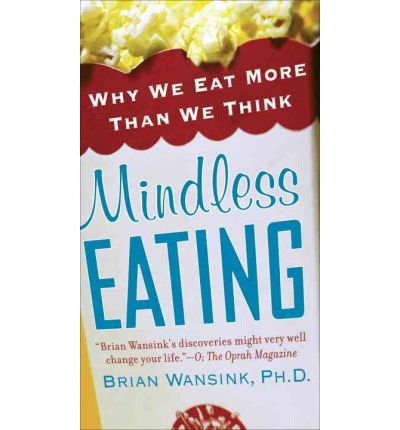 Mindless Eating book red