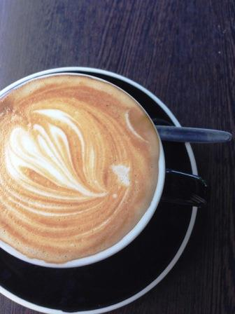 Coffee Flat White Swirl