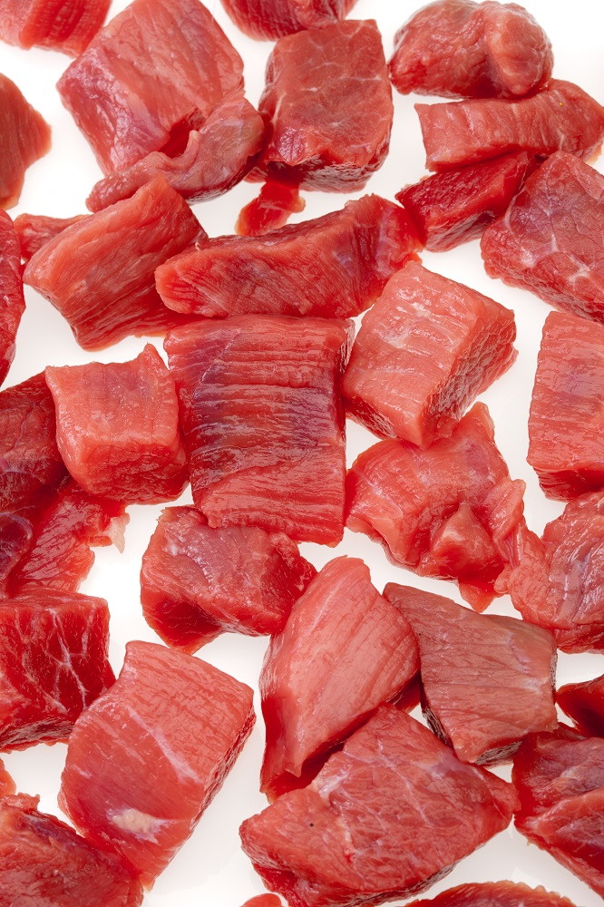 Red Meat Cubes