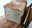 Chia wholemeal bread