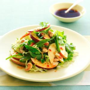 Triple apple Thai salad