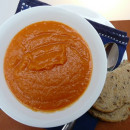 Easy kumera soup