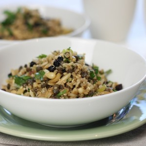 Ancient grains salad