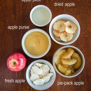 Apples - fresh, dried, puree or juice – are they still good for you?