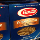 Product Snapshot: Barilla whole grain penne pasta