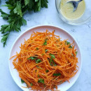 French-style grated carrot salad