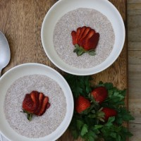 Chia berry pudding