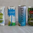 Product review: Four Coconut Waters side by side