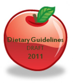 Dietary Guidelines revision 2011