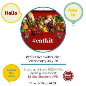 EatKit July 2014 - Bloating, IBS and FODMAPs