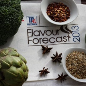 What does the McCormick Foodie Crystal Ball predict for 2013?