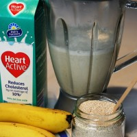 Heart-friendly breakfast smoothie