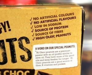Q: What are Hi-Oleic peanuts?