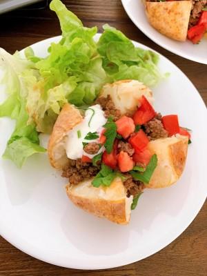 Jacket Potato recipe - healthy comfort food.