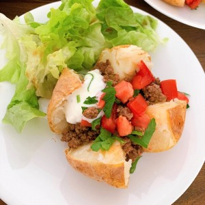 Jacket Potato recipe - healthy comfort food.