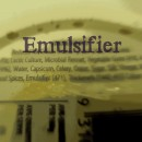 Q. What does EMULSIFIER mean on the label?