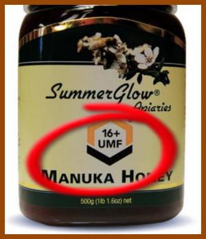Medical honey or Manuka honey