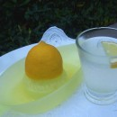 My lemon with water experiment