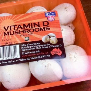 Mushrooms: A surprising source of vitamin D