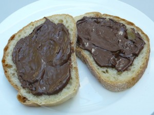 Nutella. The full (correct) list of ingredients