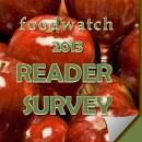 Foodwatch 2013 Website Survey