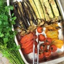 Roasted Italian Vegetables ready to serve