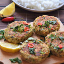 Easy Thai salmon cakes