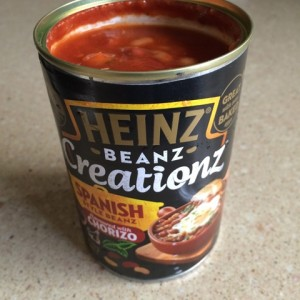 Product Snapshot: Heinz Beanz Creationz Spanish Style Beanz Flavoured with Chorizo