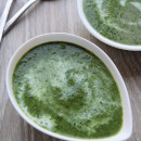 Super-quick spinach soup
