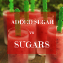 Sugar vs sugars