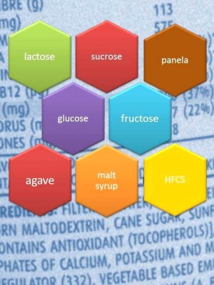 48 shades of hidden sugars!