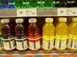 Vitamin waters - health drink or sugar hit?