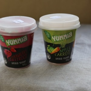 Product Snapshot: Yummia fruit & veg layered yoghurt