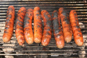 Healthy barbecues - forget the burnt sausage