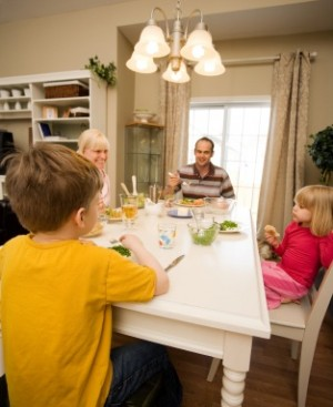 Q.  Our kids have so many activities after school it's hard for us all to eat together. Does this matter?