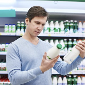 Does skim milk have more sugar than full-fat milk?