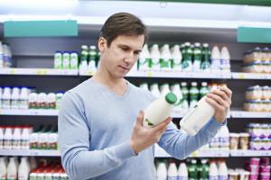 Does skim milk have more sugar than full-fat milk?