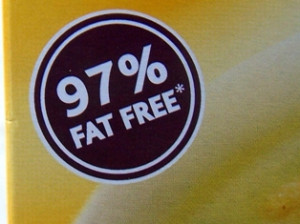 Food labels: fat-free or guilt-free?