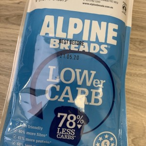 Product review: Alpine Lower-carb bread